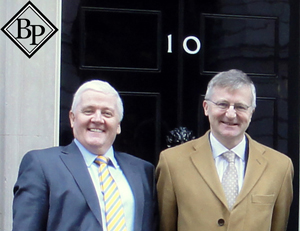 Steve Towers and John Corr Downing Street London